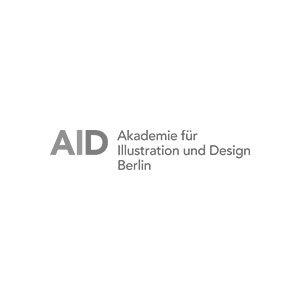 Logo AID Akademie für Illustration und Design Berlin