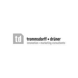 Logo Trommsddorff+drüner innovation+marketing consultants