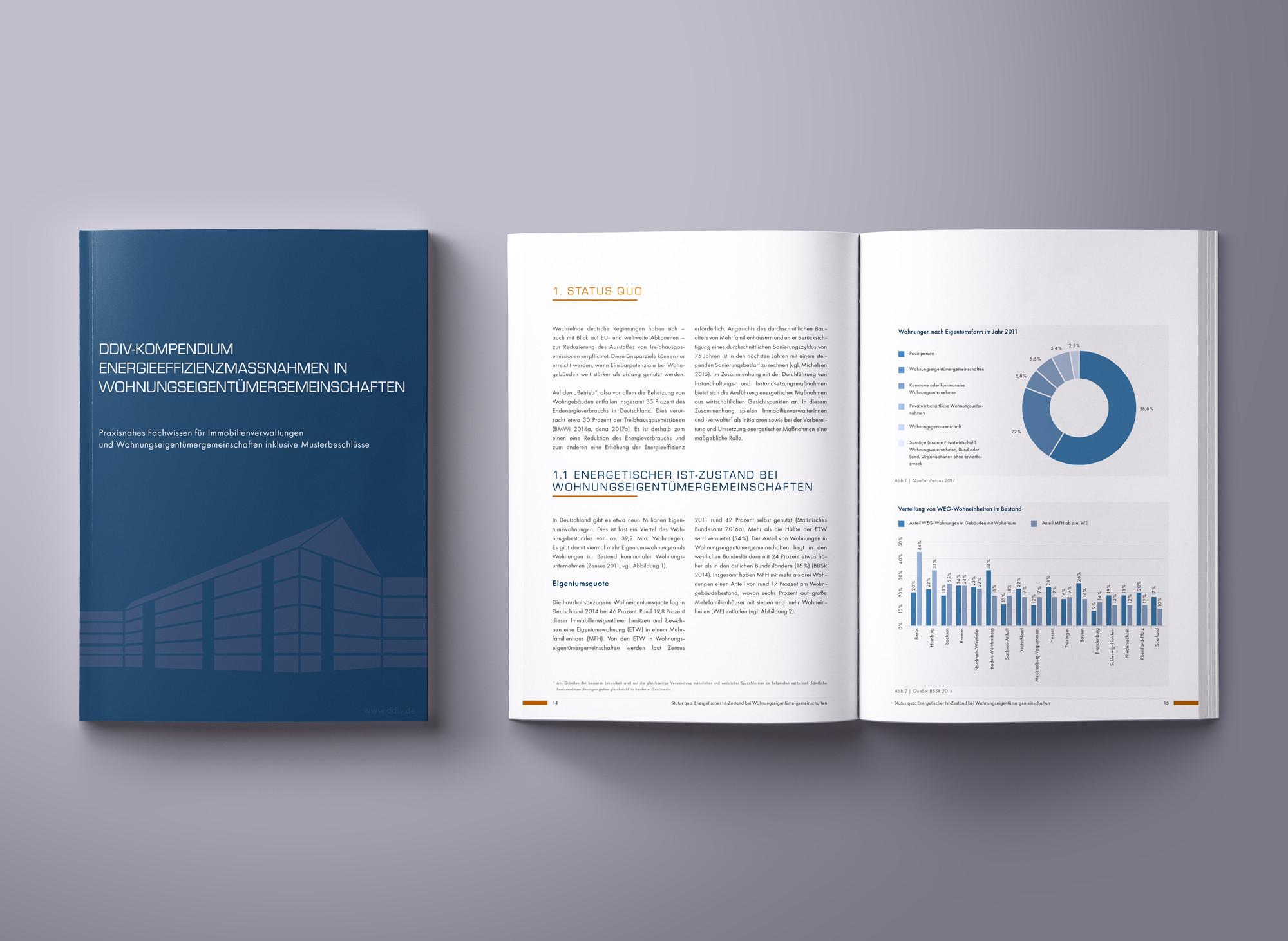 Editorial Design Kompendium VDIV. Printdesign Layout Buchgestaltung