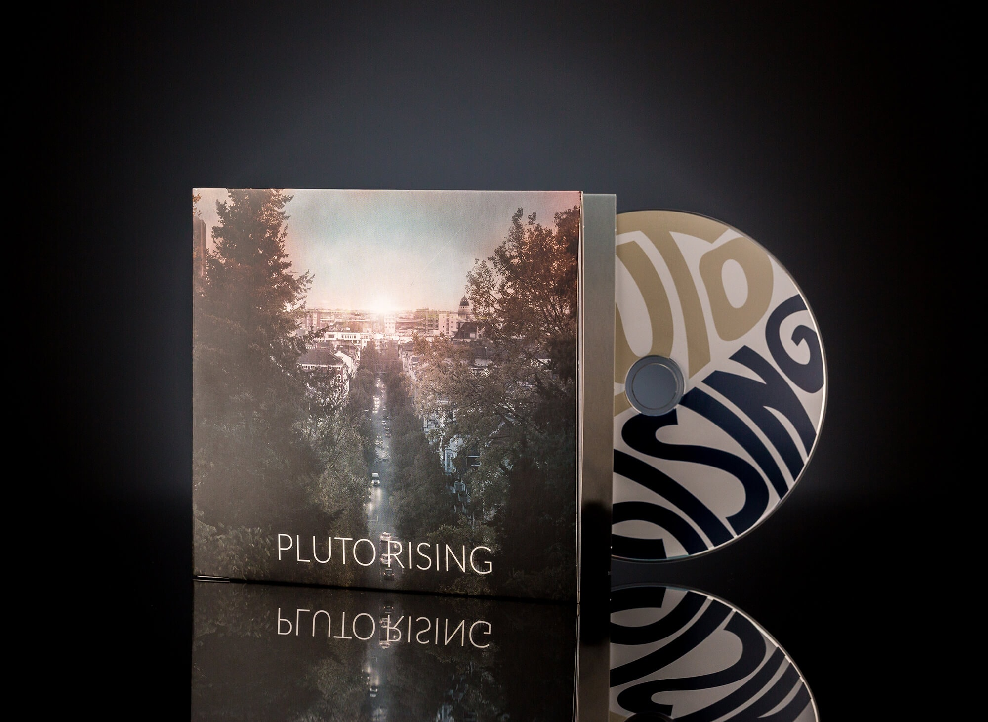 Pluto Rising Artwork