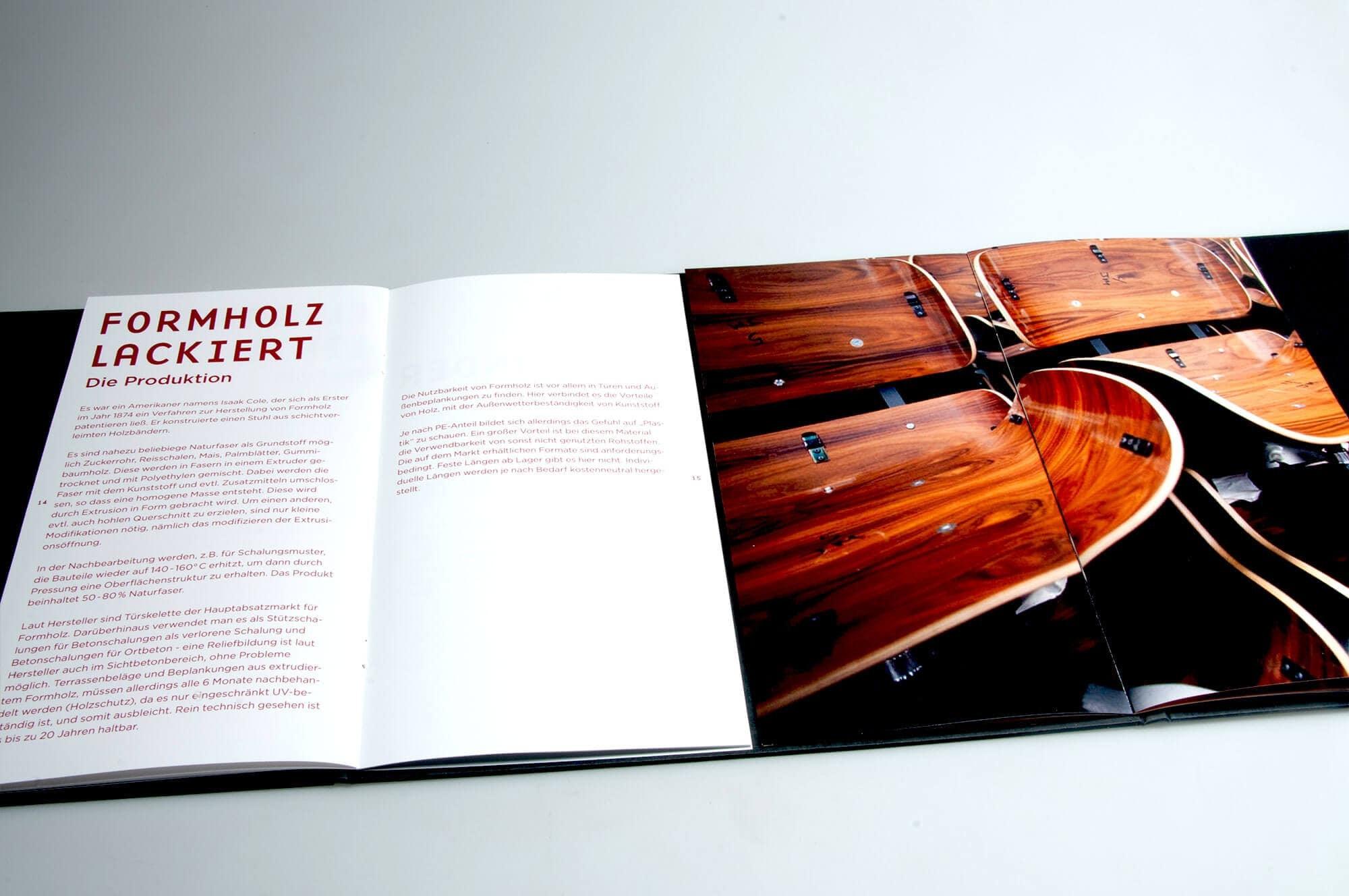 Imagebroschüre Printdesign für Zeitlos Berlin