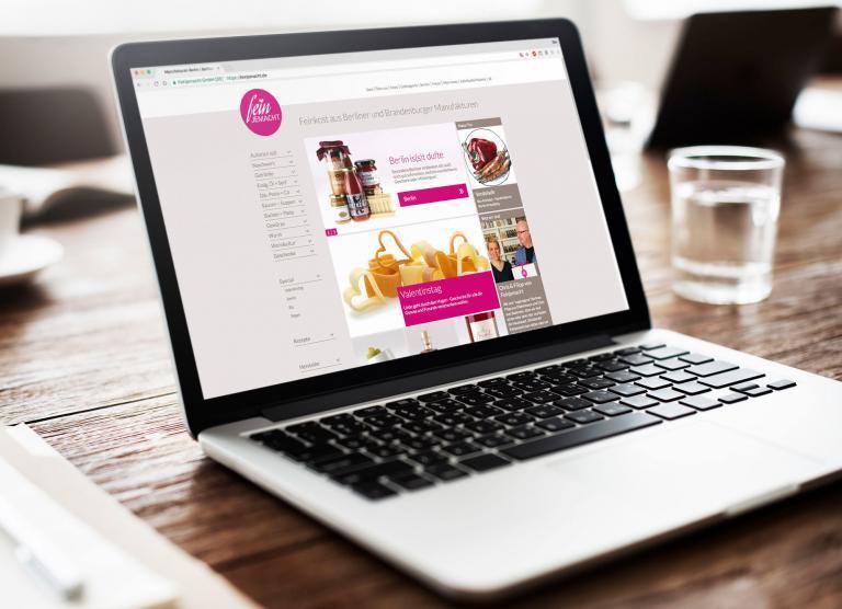 Website und Webshop mit einem auf die Zielgruppe abgestimmten UX/UI Design
